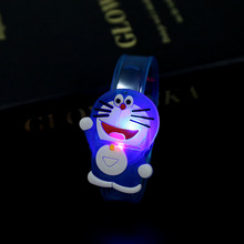 Flash Luminous Watch LED Cartoon Bracelet Lighting for Kids Children Christmas Birthday Gift Party Decoration