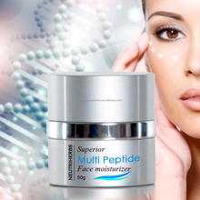 Superior Multi Peptide anti wrinkle due whitening cream for women skin care