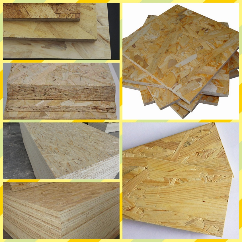 whosale price high quality 9mm 15mm pine core OSB