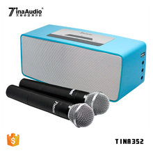 2018 new projector pa system battery powered amplified speakers portable outdoor sound speaker