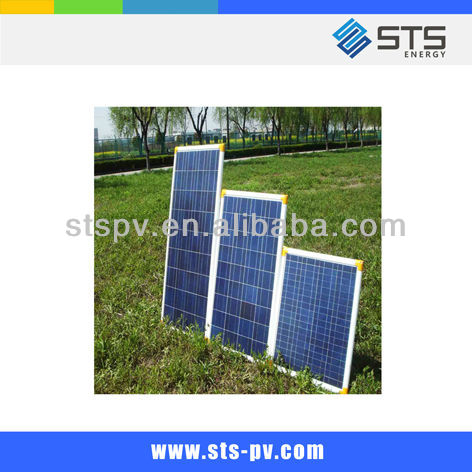 130W poly silicon pv solar panel