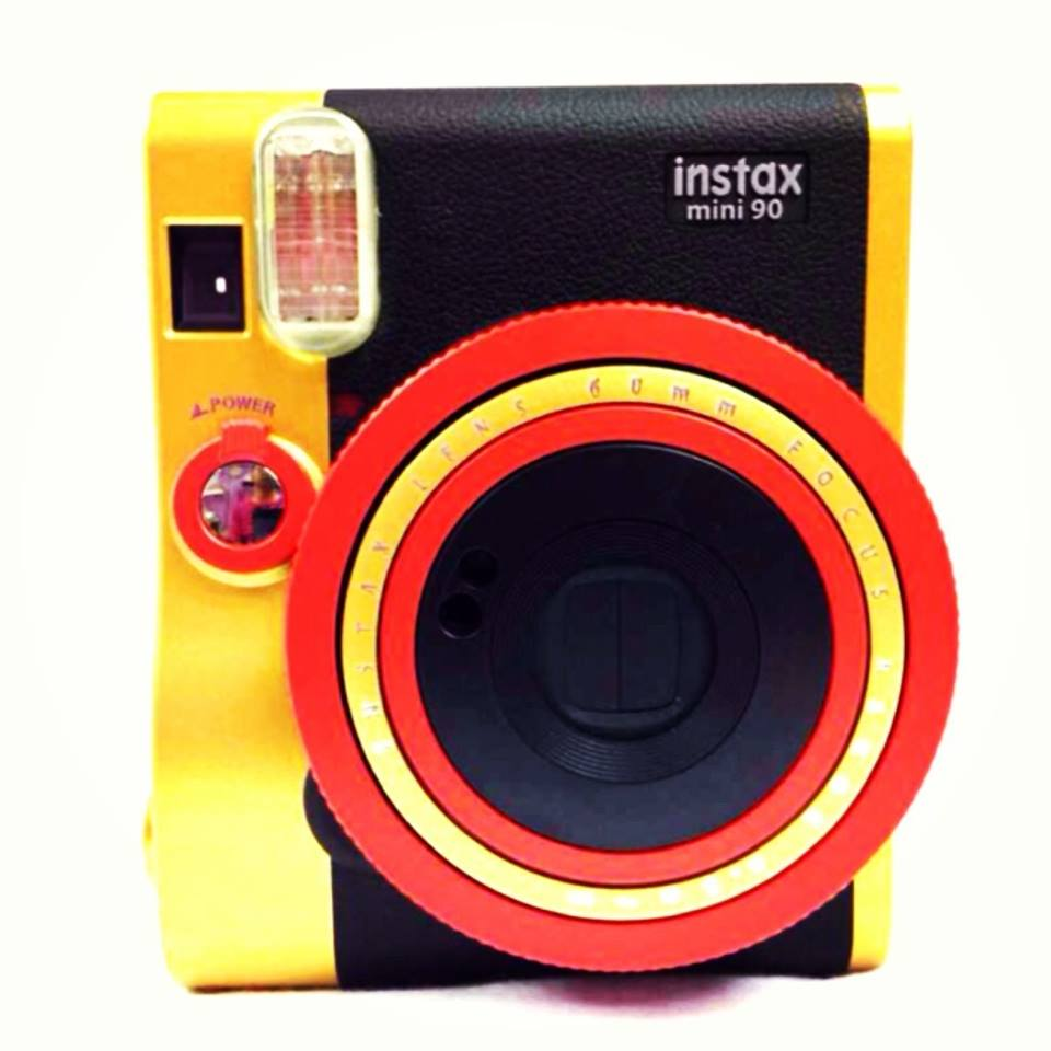Fujifilm instax Mini 90 Neo Classic instant Polaroid Camera customized color