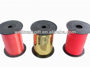 500 Meters 5mm Red Gift Wrapping PP Curling Ribbon Spool