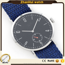 Quartz Casual Wristwatch Charm Watches Nylon Band 3ATM Waterproof with couple watches