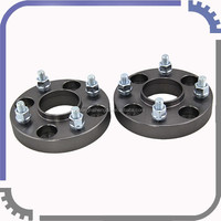 4x114.3 Wheel Spacers 20mm Thickness 1.25mm thread hub centric TITANIUM