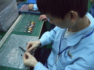 Button Assembling