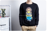 TF-05150924010 men monkey and minion blue black and gray hoodies sweatshirts