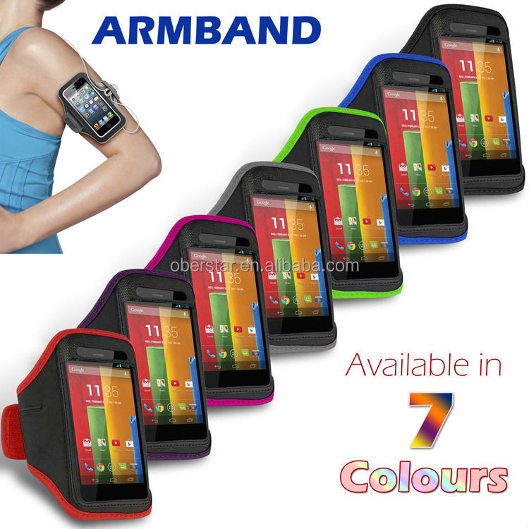 Water proof Sport jogging running gym armband Strap Case For Motorola Moto G cover