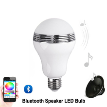 Bluetooth LED Light Bulb 6W LED Lamp Smart Light Bulbs Bluetooth Control WIFI System LED Sound