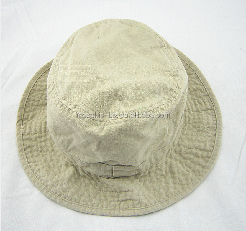 cheap wholesale heavy washed cotton bucket hat
