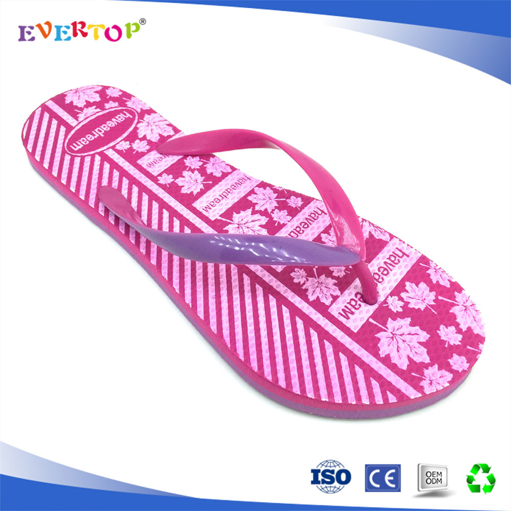 EVERTOP fuzhou wholesale eva board flip flops Cheap Outdoor rubber spa slippers women slippers sandals