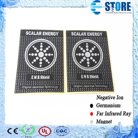 Scalar Energy Anti Radiation Sticker EMR Anti Radiation Shield