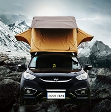 Custom Large 3 person waterproof car roof top family camping tent for 4 season