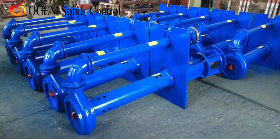 decanter's feeding pump submersible slurry pump