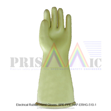 Electrical Rubber Hand Gloves ( SPE-PPE-HAP-ERHG-510-1 )