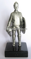 pewter soldier figurines,metal scultpure,zinc alloy solider