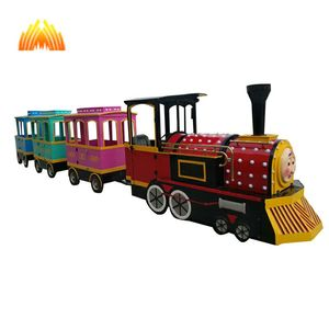 Park/shopping mall/indoor/outdoor battery trackless fun train ride for sale/Amusement park ride trains