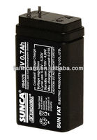SUNCA Sealed Lead-Acid Rechargeable Battery RB407E/4V0.7AH