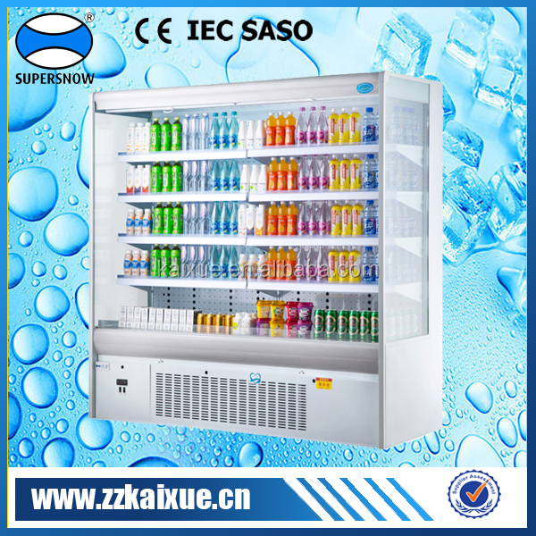 upright refrigerated supermarket display equipment