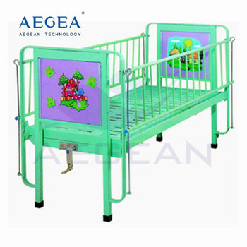 AG-CB002 excellent quality manual hospital children bed for sale