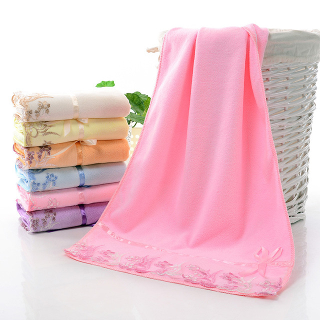 Wholesale Microfiber hand face Bath Hotel Bathroom High quality ring spun hotel / airline Microfiber Towel Set