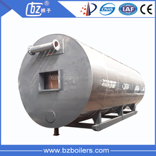 CE Standard Factory directly sell oil natural gas fired thermal oil boiler, industrial oil heater