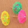 Hot Sale Customized Paper Umbrellas Drink Picks