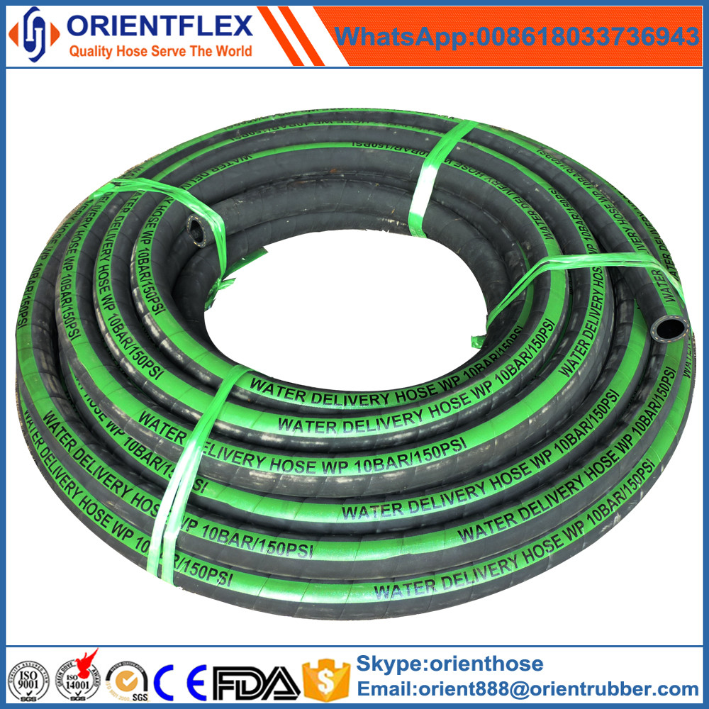 2 inch flexible rubber water hose