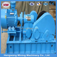 cable winch/wire rope winch/fast line speed electric winch