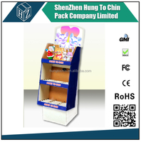 China experienced Makeup Mac Cosmetic Display Stand, Advertising Cardboard Display Stand