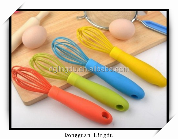 beautiful silicone function of egg beater