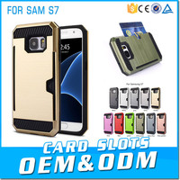Top Selling Products In Alibaba Phone Cases Credit Card Slot Back Cover For Samsung Galaxy S7 Rugged Case