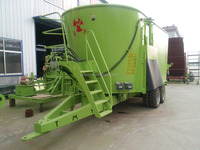 World famous TMR Feeds Mixer / Vertical Mixer Wagon with large volume