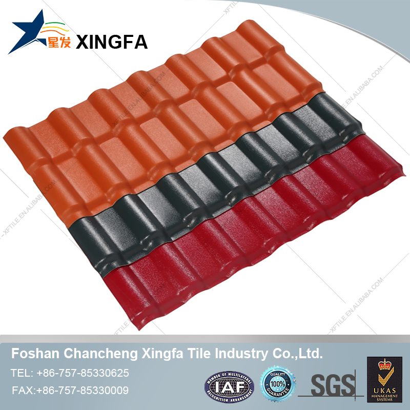 Bamboo Platic Roof Tile, Heat Insulation Roofing Shingle
