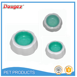 2015 New Hight Quality Drinking Ice Bowl Of Pet Dog Keep Water Fresh&Cold For Hours Long At Summer Hot Sale