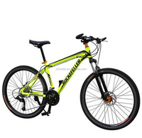 Bicycle 27-Speed Mountain Bike Double Disc Of Outdoor Sports Aluminum Tri-Color Sports Student Bikes Sell Like Hot Cakes