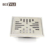 Outdoor 304 Stainless Steel 152*152 mm Garage Floor Drain Covers