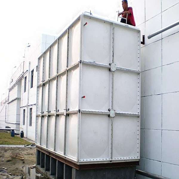 FRP/GRP food grade sea rectangular plastic <strong>water</strong> storage <strong>tank</strong> modular