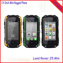"2016 Latest Mini Size 2.4"" Touch Screen Dual Core Dual SIM Android 4.2 Rugged Tough Smartphones"