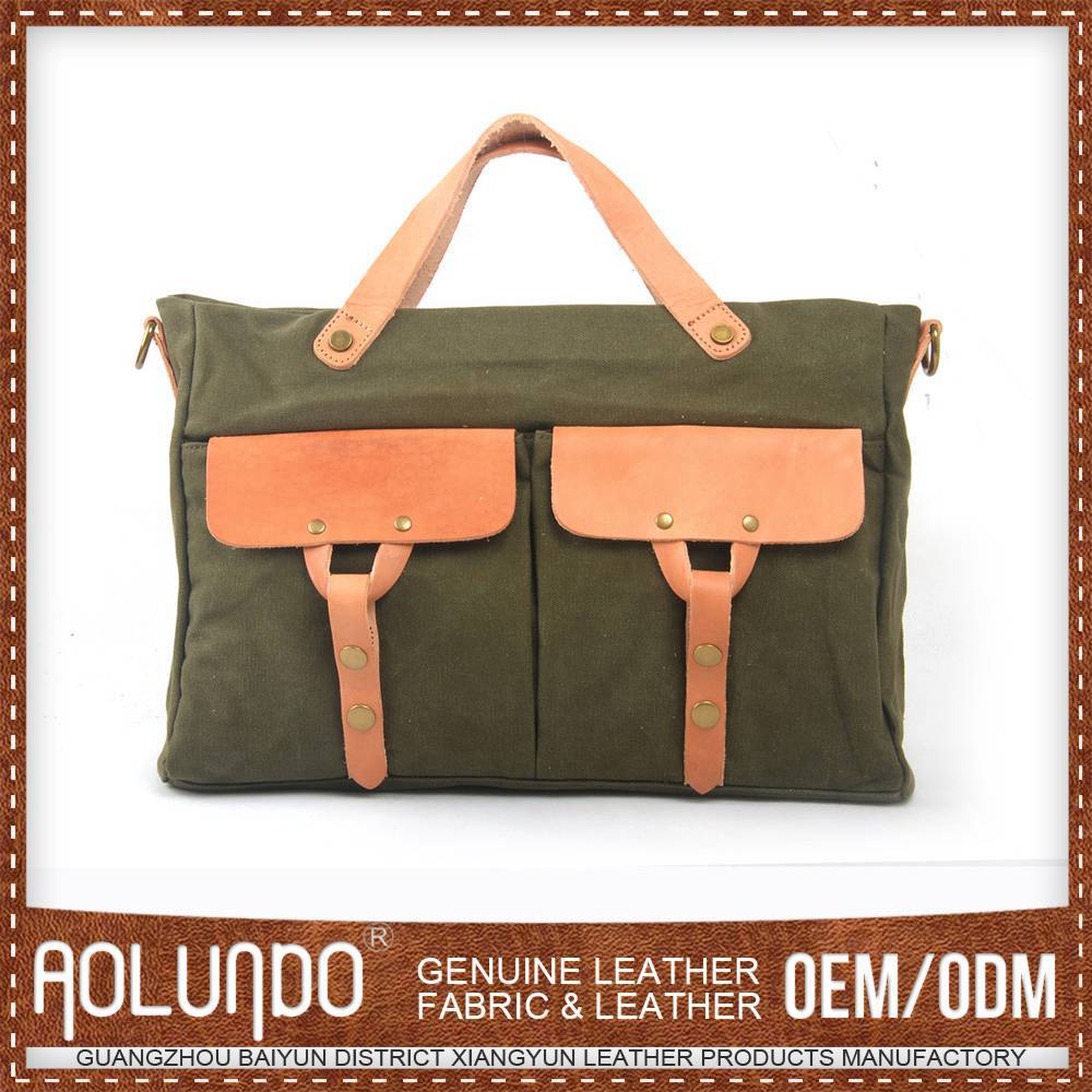 Reasonable Pricing Custom Canvas & Leather Factory Hong Kong Bags