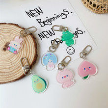 Wholesale Manufacture  Acrylic KeyChain Custom Printed Acrylic Charms