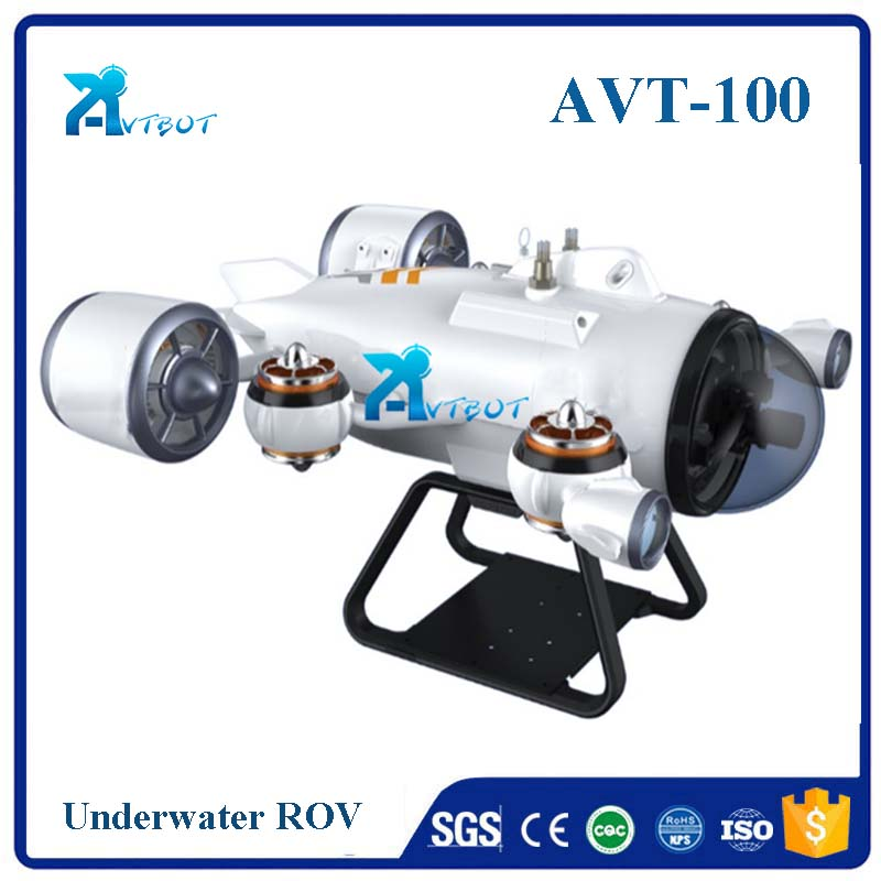 100m deep sea inspection rov vehicle with remote controller