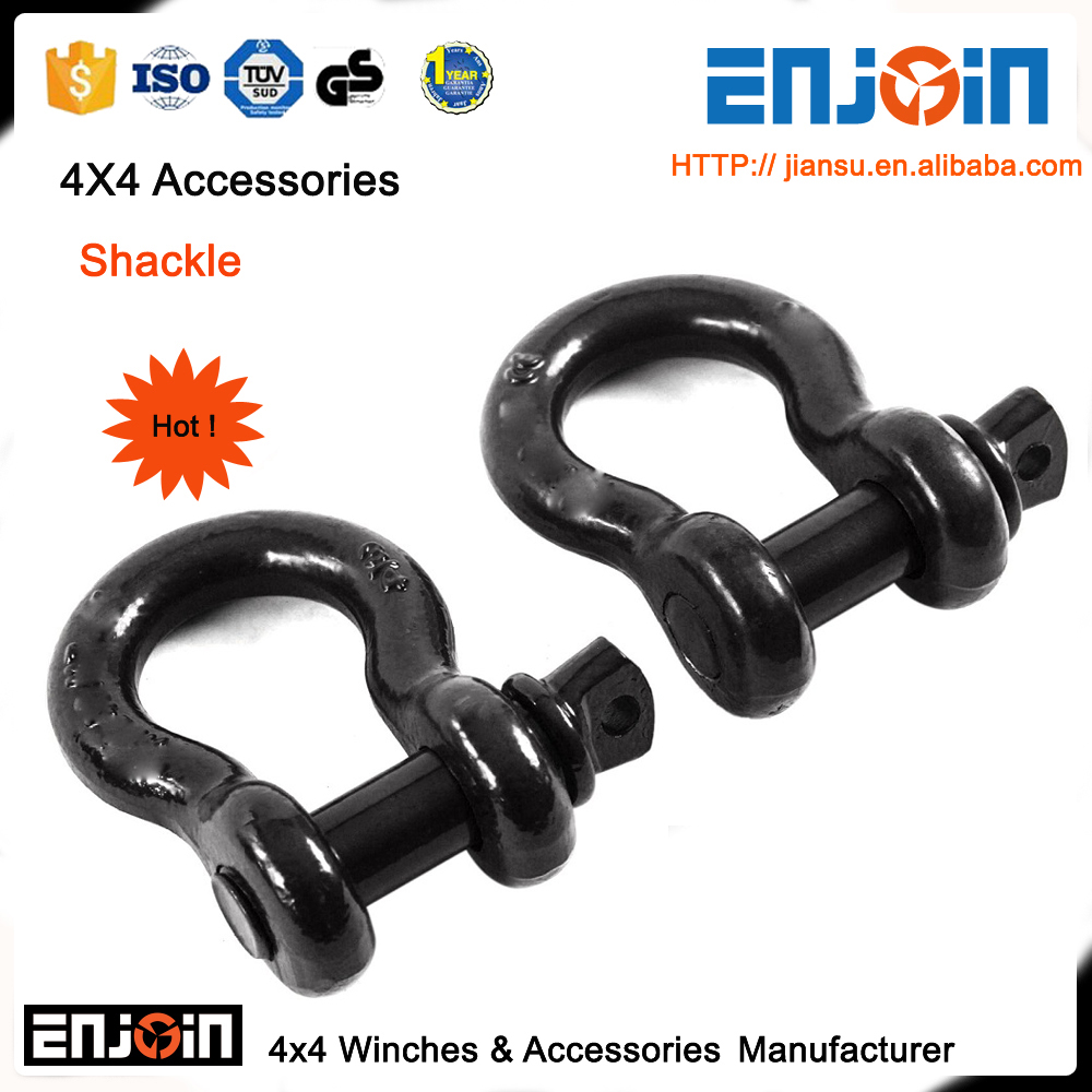 ENJOIN recovery shackle d ring 3/4