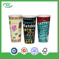 14A Cartoon Design Take away Hot & Cold Beverage cups