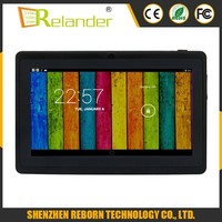 cheapest 7 inch quad core HD screen 1024*600px cheapest tablet pc made in china