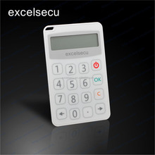 ESECU Factory Supply Wholesale Financial Equipment One Time Password Plastic OTP Token