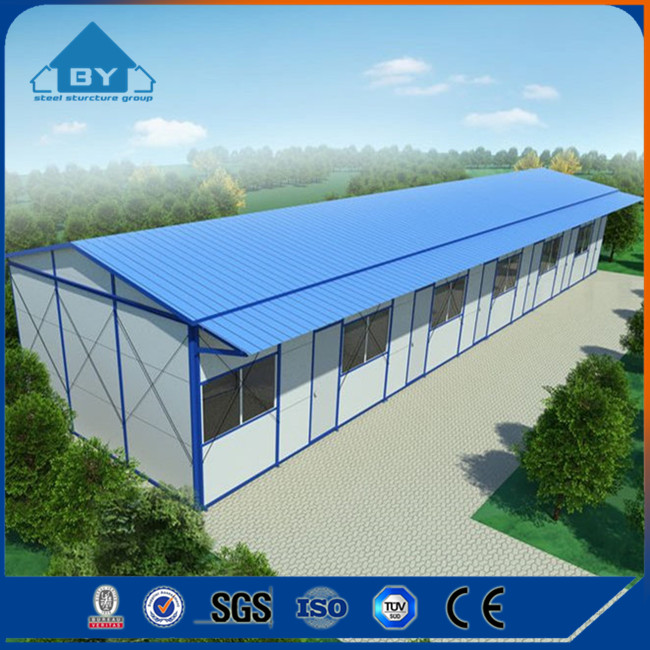 China New Design Prefabricated Cheap Prefab Steel Structure House