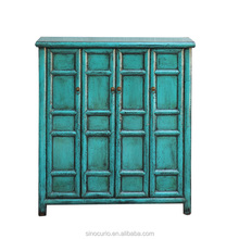 Beijing antique furniture wholesale classic wood cabinet shoe storage cabinet