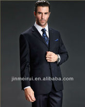 New Arrival Made In China Wool Worsted New Men Suit MS024