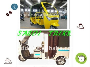 Electric passenger tricycle scooter, trike, rickshaw, bajaj, motorcycle